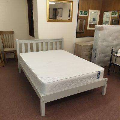 4'6″ Shaker Grey Bedstead